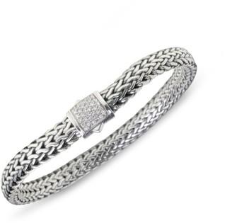 John Hardy Classic Chain Diamond & Sterling Silver Small Bracelet