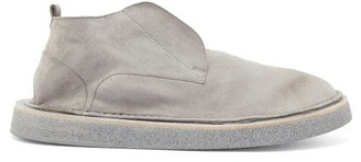 Marsèll Stratone Slip-on Suede Derby Shoes - Grey