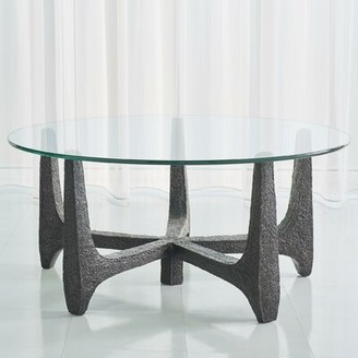 Global Views Serpa Coffee Table with Tray Top