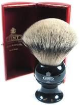 Kent Black King Size Silver Tip Badger Shave Brush - BLK12