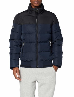 Superdry Men's Track Sports Puffer Jacket
