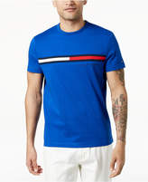 Tommy Hilfiger Men's Pledge Pieced Embroidered-Logo T-Shirt, Created for Macy's