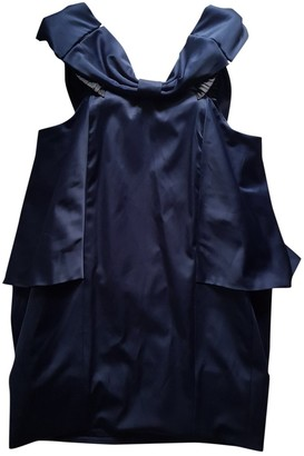 Marc by Marc Jacobs Navy Cotton - elasthane Dress for Women