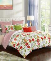 Idea Nuova Watercolor Floral Eight-Piece Comforter Set