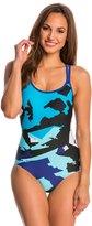 Champion Women's Sea Basketweave Lingerie Tank One Piece Swimsuit 8140256