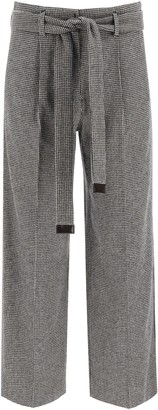 S Max Mara 's Max Mara Exploit Trousers With Sash Belt