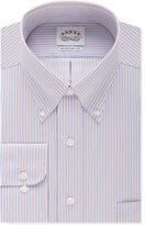 Eagle Men's Big and Tall Classic-Fit Non-Iron Bright Blue Stripe Dress Shirt