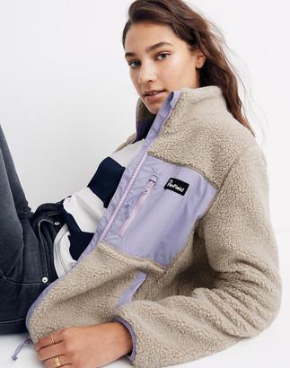 Madewell x Penfield Mattawa Sherpa Fleece Jacket