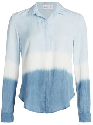 Bella Dahl Ombre Chambray Button-Down Shirt