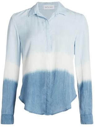 Bella Dahl Ombre Chambray Button-Down Shirt