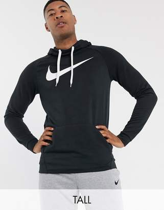 Nike Training Tall pullover hoodie in black