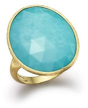 Marco Bicego 18K Yellow Gold Turquoise Ring