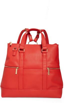 Mali & Lili Samantha Large Vegan Leather Convertible Backpack
