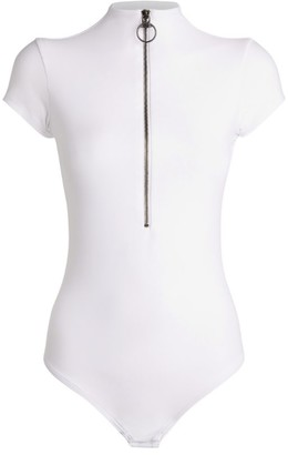 Alix Charles Ring-Zip Bodysuit