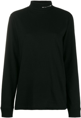 Alyx Long Sleeve Roll Neck Top