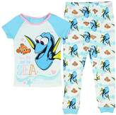 Disney Finding Dory You Me And The Sea Little Girls' Toddler 2 PC Pajama Set