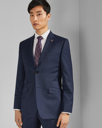 Ted Baker TEXREJ Textured wool suit jacket