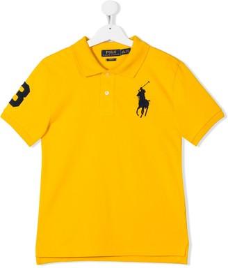 Ralph Lauren Kids TEEN embroidered logo polo shirt