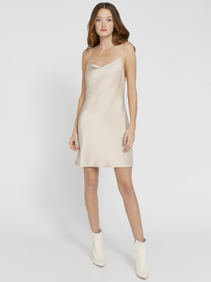 Alice + Olivia Harmony Drapey Slip Dress