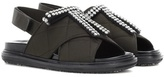 Marni Crystal-embellished Sandals