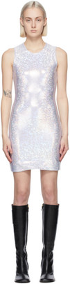 Saks Potts Silver Shimmer Vision Dress