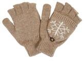 Women's Snowflake Fingerless Gloves - Do Everything In Love