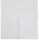 PetitPehr Dot-Pattern Swaddle Blanket-BLUE