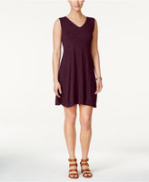 Style&Co. Style & Co Petite Crisscross-Back Fit & Flare Dress, Only at Macy's