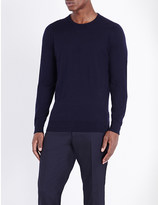 John Smedley Theon cotton and cashmere-blend jumper