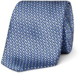 Lanvin Abstract Squares Geo Tie