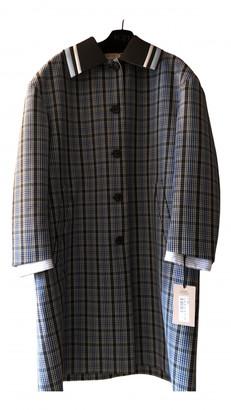 Nâ°21 NA21 Blue Wool Coats