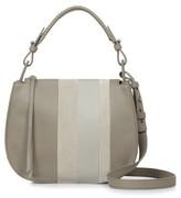 AllSaints Casey Lea Calfskin Leather & Suede Hobo - Beige