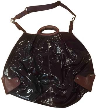 Marni Burgundy Patent leather Handbags