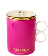 Juicy Couture Jc Ceramic Mug With Lid