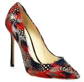 Jimmy Choo Romy 100 Feather Point-Toe Pumps