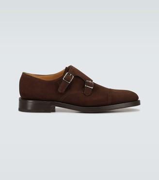 John Lobb William double sole suede shoes