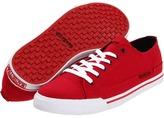 Macbeth Matthew (Red/White/Canvas/Vegan) - Footwear