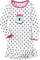 Carter's Penguin Dot-Print Fleece Nightgown, Little Girls (2-6X) & Big Girls (7-16)