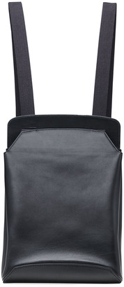 The Row Molded Backpack in Smooth Leather