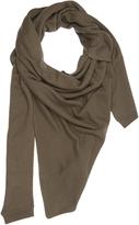 Lemaire Asymmetric cashmere scarf