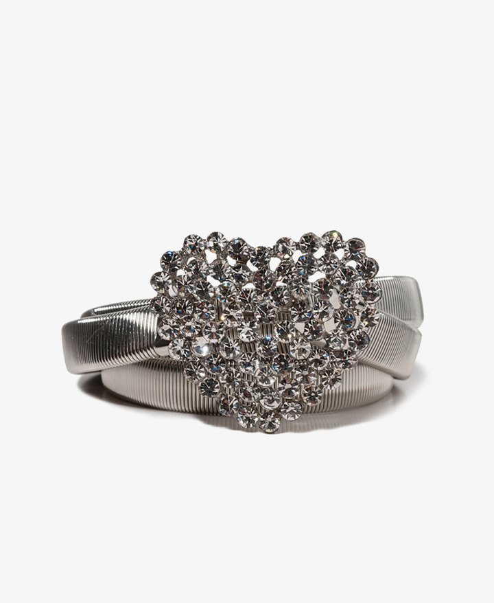 Forever 21 Heart Chain Waist Belt