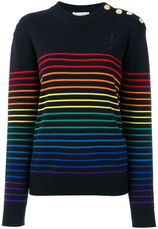 J.W.Anderson striped sweater