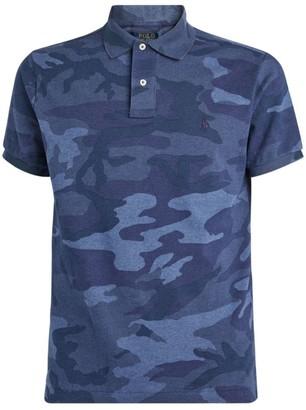 Ralph Lauren Camouflage Cotton Polo Shirt