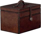 OKA Saddle Leather Jewellery Box