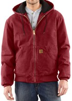 Carhartt Sandstone Active Jacket - Washed Duck (For Big Men)