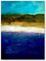 """STUDY """"Abstract Dunes Canvas Wall Art by Michelle Calkins"""