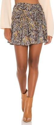 Free People Saturday Sun Mini Skirt