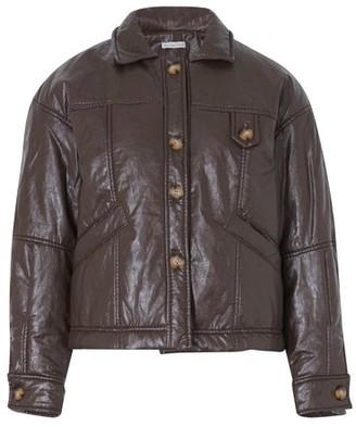REJINA PYO Pippa faux leather jacket