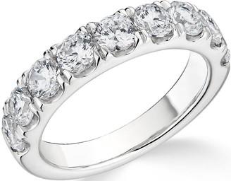 Love Diamond 9K White Gold 1.8ct Diamond Band Ring