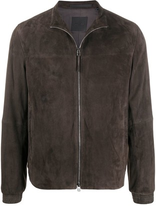 Theory Tremon leather jacket
